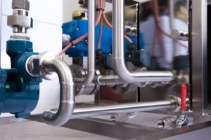 Steam generator details pipe system