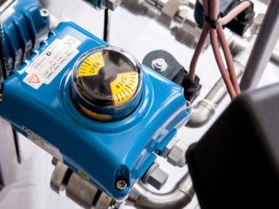 Detailansicht von Dampfgenerator MM3